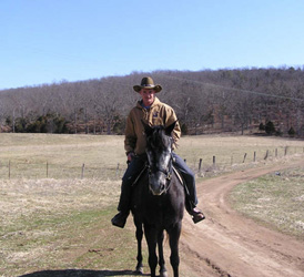 Horse friendly lodging and trail riding Ironton, Arcadia Valley, MO
