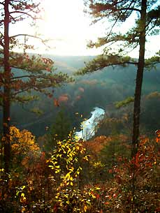 Sutton Bluff at Mark Twain National Forest