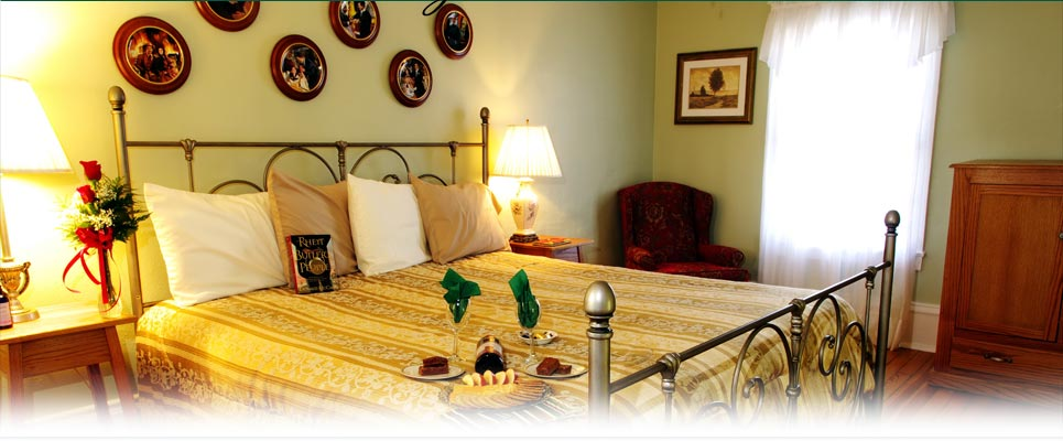 The Romantic and Cozy Rhett Butler Suite
