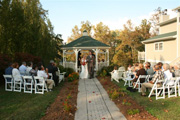 Our beauriful outdoor wedding gazebo